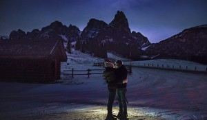 Roberto and Matilde: a love story on the Italian Dolomites