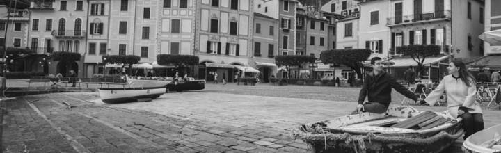 Monica e Diego: engagement a Portofino e Paraggi