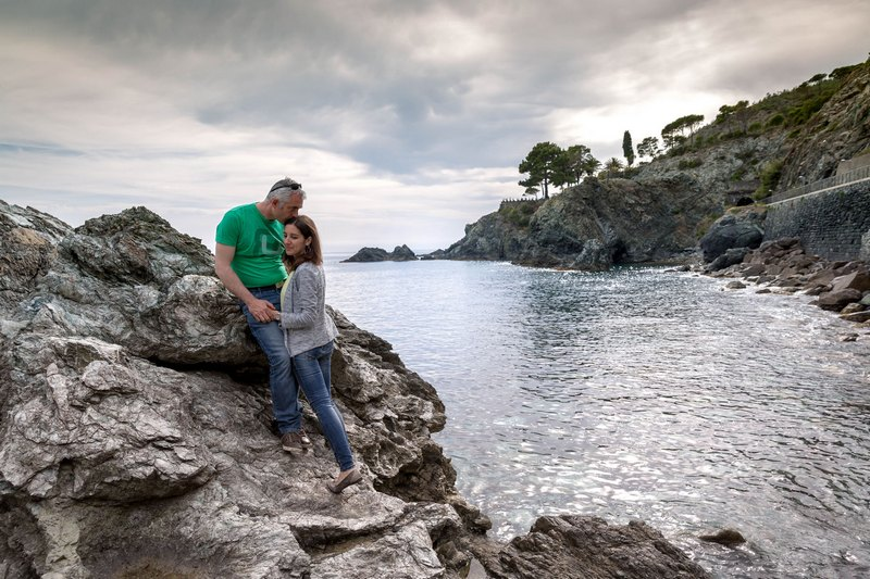 Levanto engagement photographer destination wedding italian riviera