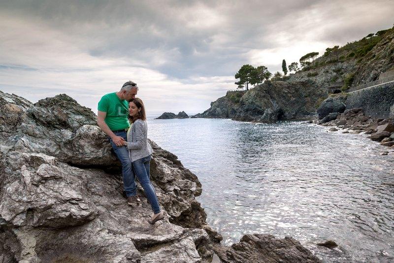 Levanto engagement photographer destination wedding italian riviera