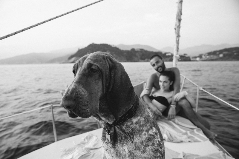 sestri levante prewedding photographer destination wedding italian sailing