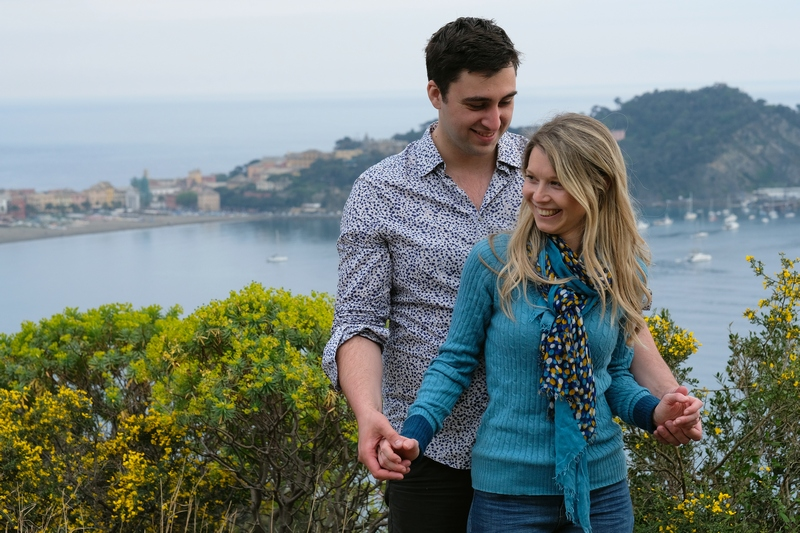 sestri levante engagement photographer destination wedding italian riviera