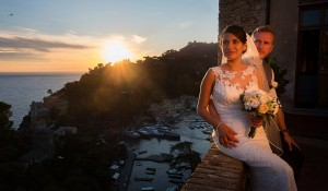 Destination wedding Portofino Elizabeth and Ross